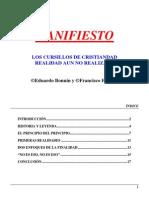 Bonnin Eduardo y Forteza Francisco - Manifiesto