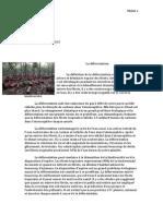 la deforestation
