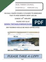 Newsletter 27 February 2014