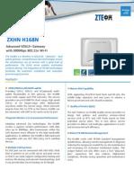 ZXHN+H168N+datasheet