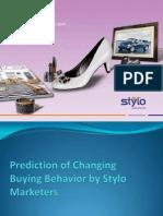 Predicting Change in Buying Behaviour