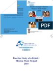 Baseline study on e-District Mission Mode Project.