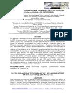 AVALIAÇÃO IN VITRO DA ATIVIDADE ANTIFÚNGICA DE EXTRATO AQUOSO.pdf