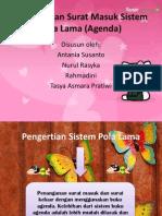 Penganan Surat Masuk Sistem Pola Lama (Agenda - Copy