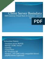 01 Sms Gateway Vb 6 Gammu Setting