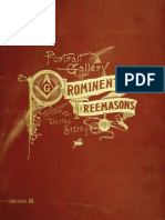 A Portrait Gallery of Prominent Freemasons, Vol.3 (1892)