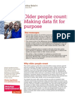 Older people count
