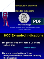 Hepatocellular Carcinoma Extended Indications