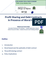 Mahmoud Sami Nabi - Profit sharing and debt contracts in presence of moral hazard
