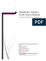 Kingfisher Airline Fall Case Study