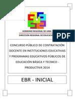 Examen Contrato Docente Inicial 2014 DRLP