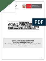 Exmen Educacion Secundaria EBE 2014