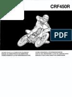CRF450R Honda