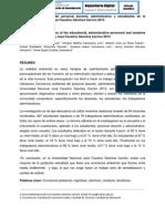 CONCIENCIA AMBIENTAL DEL PERSONAL DOCENTE, ADMINISTRATIVO Y ESTUDIANTES DE LA UNIVERSIDAD NACIONAL JOSÉ FAUSTINO SÁNCHEZ CARRIÓN 2013
