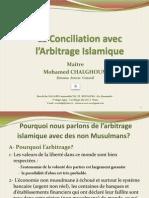 Mohamed Chalghoum - La Conciliation avec l'Arbitrage Islamique