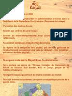 Jérôme Beilin - République Centrafricaine et Association Batali