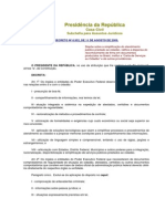 Decreto Nº 6.932 - 2009