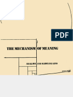 The Mechanism of Meaning