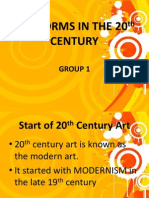 Art Forms in the 20th Century