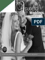 A Guide to Weddings January 29, 2014