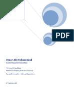 Omar Mohammad - CV -24 SEP 2009