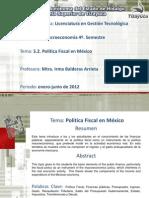 Politica Fiscal MacroIBA
