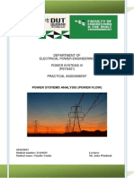 Power System IV Assignment