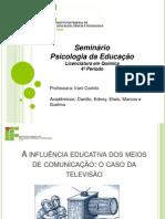 SEMINARIO PSICOLOGIA DA EDUCAÇÃO 1