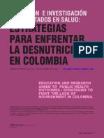 Educación e investigación de resultados en salud