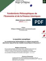 Abderrahmane Lahlou - Fondements philosophiques et éthiques de l'économie et de la finance islamiques