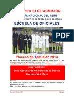 Prospecto de Admision Eo-pnp 2014