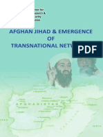 Afghan Jihad & Emergence of Transnational Networks by CRSS