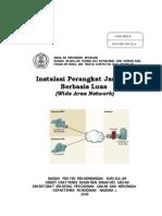 Awalan Instalasi Perangkat Jaringan Berbasis Luas (WAN)
