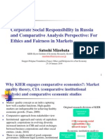 Satoshi Mizobata - Corporate social responsibility in Russia and comparative analysis perspective