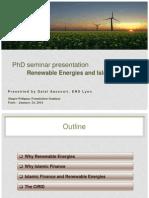 Dalal Aassouli - Renewable energies and islamic finance