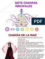 Los Siete Chakras Principales