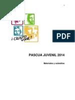 Pascua Juvenil 2014 Materiales y Subsidios