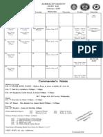 American Legion Post 160 Calendar of Events February 2014