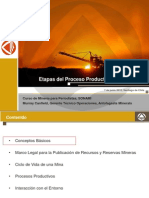 PPT Muy Claro Sobre Etapas Del Proceso Productivo de Una Mina