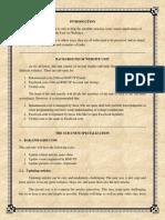 Guidelines for Website Unit