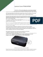 Como Resetear Impresora Canon PIXMA MP280