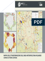 Mappa delle Trasformazioni dell'area metropolitana milanese