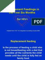 HIV and Infant Feeding