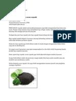 Artikel DOA_Tips Hasilkan Baja Dan Racun Organik