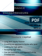 Bank Finance to Entrepreneurs