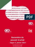Rapport - Barometre CACOM - Janv2014.pptx