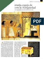 El ajuar funerario, espejo de la vida diaria en la Antigüedad