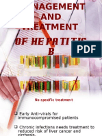 Management and Treatment of Hepa b