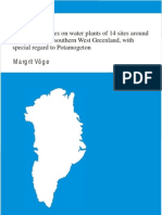 Ecological studies on water plants of 14 sites around Kangerlussuaq, southernWest Greenland, with special regard to Potamogeton