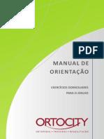 Manual Ortocity Exercicios Domiciliares Para Joelho